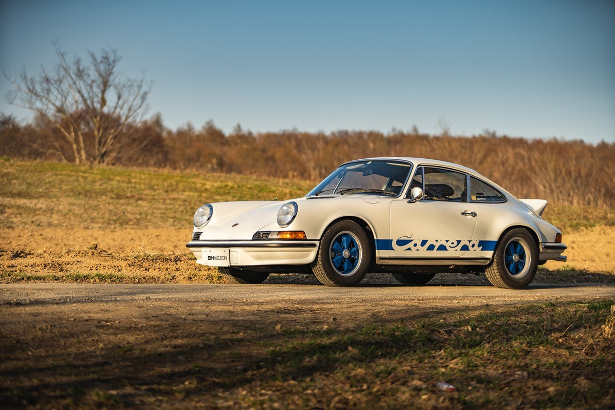 1973 Porsche 911 Carrera Rs 2 7 Touring Bh Auction